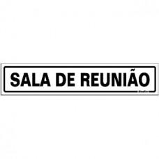 PLACA SINALIZE 05x25 - SALA DE REUNIÃO