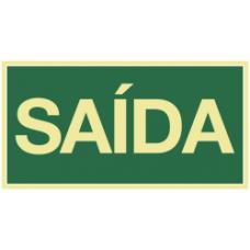 PLACA ROTA DE FUGA 15x30 - SAÍDA