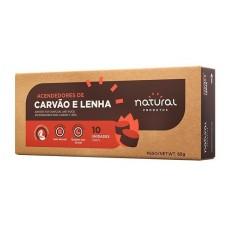 ACENDEDORES DE CARVÃO E LENHA